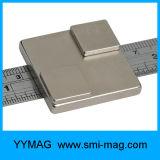 Неодимий магнита блока промышленного применения резиновый Coated