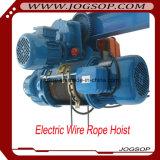 Grua de corda elétrica do fio de 10 toneladas