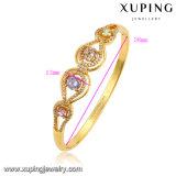 51565 Moda Zircon 24k oro-plateado brazalete de la joyería para las mujeres