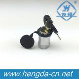 """5/8の""""鋼鉄車機器のトレーラーの受信機ロック(YH9005)"""