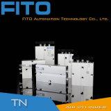 Cilindro di alluminio di modello dell'aria di Airtac doppio Rod di serie di Tn