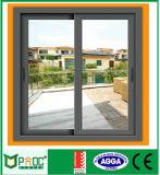 Glasig-glänzendes Aluminiumlegierung-schiebendes Fenster aussondern