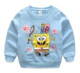 Новым Длинн-Втулка рубашек мальчиков маленьких ребеят способа напечатанная шаржем