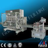 Fuluke Fgj-Y kleines Flaschen-flüssiges Füllmaschine-Automobil-füllende mit einer Kappe bedeckende Maschine