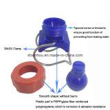 Bec de pulvérisation réglable de bille G de bride en plastique de l'enduit
