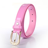 English Fashion Shiny PU ceinture de strass Buckle (RS-150913)