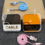 imballaggio elettronico di plastica trasparente del trasduttore auricolare della casella (casella dei pp)