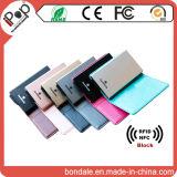 Блокатор кредитной карточки экрана бумажника RFID предохранения от удостоверения личности