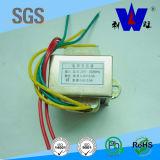 Transformador de acero del silicio de la entrada de información 220V Ei57 con el alambre de terminal de componente