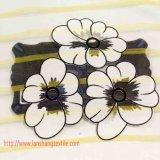 Tejido de poliéster Flor Jacquard Tela tela teñida hilado de fibra química para niños vestido lleno del funcionamiento del desgaste Textiles para el hogar