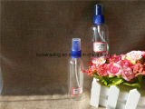 [80مل] [100مل] [150مل] [250مل] زجاجة شفّافة بلاستيكيّة مع مرشّ ([بتب-11])