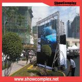 Alta definizione P6 che fa pubblicità al video schermo di visualizzazione esterno del LED di SMD