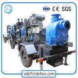 Motor Diesel de 4 polegadas - bomba de água de esgoto conduzida da escorva do auto