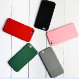 Les amoureux simples bon marché frottent la caisse mince de téléphone cellulaire de couverture dure de PC de cas de téléphone mobile pour iPhone7