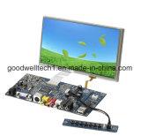 Módulo do indicador de 7 polegadas com luminoso do diodo emissor de luz, USB para o toque