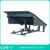 Leveler de doca hidráulico elétrico fixo estacionário de 8 toneladas para louros de carregamento