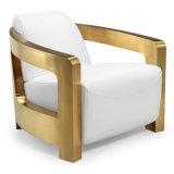 Hauptmöbel für Wohnzimmer-Leder-Sofa (F099A)