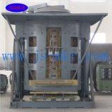 Horno de frecuencia media de acero usado del horno de inducción