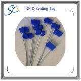 Alta segurança um Tag da selagem do uso RFID do tempo para a gerência logística dos bens