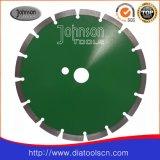 230mm 녹색 콘크리트는 빠른 편집을%s 톱날을