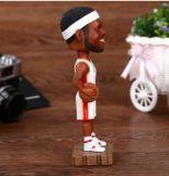 Le joueur de basket de résine de Whosale Bobble la tête à vendre