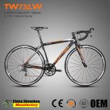Bicicleta de aluminio Superlight del camino de 2400-16speed que compite con los 44cm~54cm