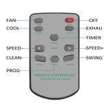 Легко для использования воздушного охладителя воды металла установленного окном испарительного