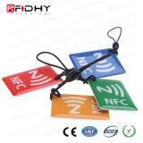 MIFARE Más la Etiqueta de Epoxy de la Caída de la Tarjeta RFID NFC para la Venta al por Menor