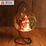 DIY Glaskugel-Puppe-Haus für Geschenk