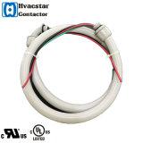 """1/2 """"X6 ', 10AWG Liquid-Tight, Climatiseur Eléments électriques Air Conditioner Conduit Whip - Metallic"""