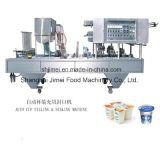 Yogur de la leche de la lechería de la pequeña escala que procesa la cadena de producción planta