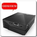 Preiswerte Projektor-bewegliche Stützbewegliche drahtlose Anschlüsse GM60A Preis LCD-WiFi steuern Kino-Theater-Schnittstellen-Projektor auf Lager automatisch an
