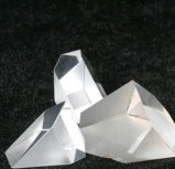 Prisma personalizado do vidro ótico de quartzo