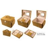 Doos van de Juwelen van de Juwelen van de Inzameling van de Kunst van de Opslag van de Verpakking van de Gift van het Leer van de reis de Slimme Pu