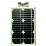 15watts LiFePO4 리튬 건전지를 가진 한세트 통합 태양 LED 가로등