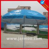 Изготовленный на заказ логос рекламируя зонтик пляжа Sun