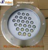 IP67에 있는 옥외 LED 가벼운 24W LED 지하 빛