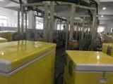 Populäre gebogene Glastür-Brust-Gefriermaschine mit der einfrierenden Kapazität 308L