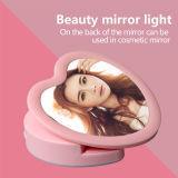 Romantisches rosafarbenes Liebes-Inneres Selfie helles Licht des Blitz-LED