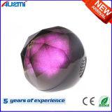 Drahtloser Lautsprecher-Kristallkugel-Lautsprecher LED-Bluetooth mit buntem Licht