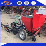 Seeding de pomme de terre de deux rangées/machine de plantation pour l'entraîneur