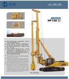 Plein équipement hydraulique d'empilage de Hf128A, bélier, diamètre de la profondeur 600-1600mm du matériel 45m d'empilage