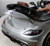 Beste verkaufenkind genehmigte Fahrt auf Auto-Spielzeug 12volt mit ledernem Sitz