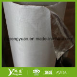 Matériau de construction de résistance d'incendie, papier d'aluminium stratifié avec la fibre de verre