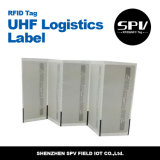 Freqüência ultraelevada Long Range Logistics Sticker Tag de RFID em Roll com Alien H3 9662