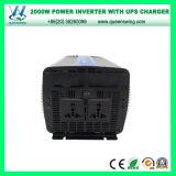 Inverseur d'alimentation AC de C.C d'UPS 2000W avec le chargeur 20A (QW-M2000UPS)