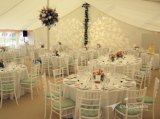 옥외 고품질 공간 경간 백색 PVC 큰천막 결혼식 천막
