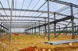 Vertiente prefabricada del ganado, alta construcción del almacén de la estructura de acero con el mejor gráfico