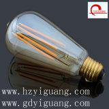El LED ahorro de energía St64 ligero calienta blanco