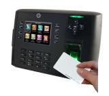 Impressão digital e de cartão da identificação controle de acesso do leitor com câmera interna (TFT700/ID)